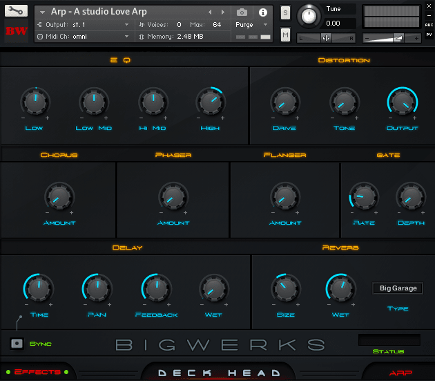 Deck Head Kontakt Library 4