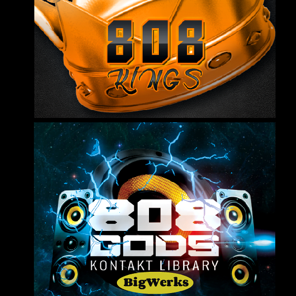 808 GODSKINGS kontakt libraries 1