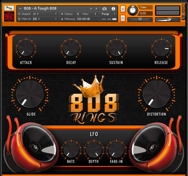 808 GODSKINGS kontakt libraries 3