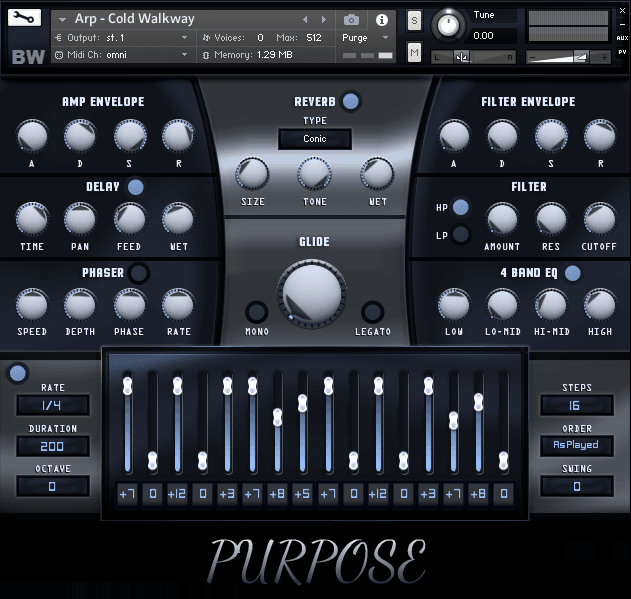 Purpose Kontakt Library 1