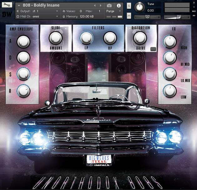 Unorthodox 808s & Drum kit Kontakt Bundle 2