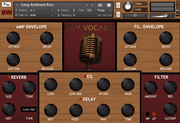 Key Vocals Kontakt Library 2