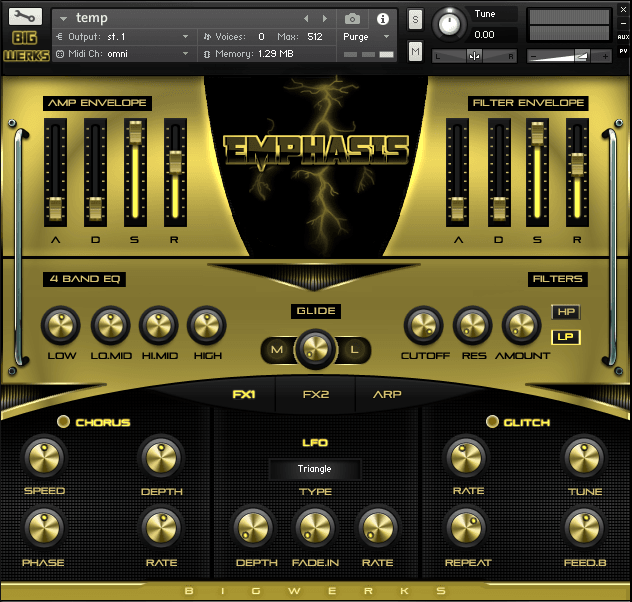 Emphasis Kontakt Library - #1 For High Quality Sounds - Trap|R&b|Hip Hop|EDM|Cinematic|VST 2