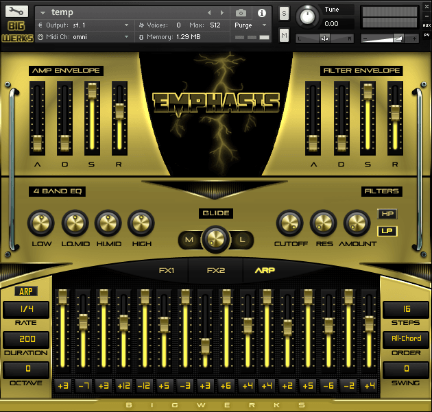 Emphasis Kontakt Library - #1 For High Quality Sounds - Trap|R&b|Hip Hop|EDM|Cinematic|VST 4