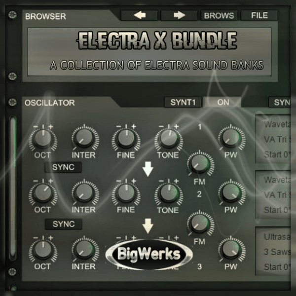 Electra X Bundle Sound Banks - #1 High Quality Electra X Sound Bank 1