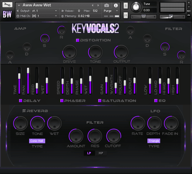 Key Vocals 2 Kontakt Library 2