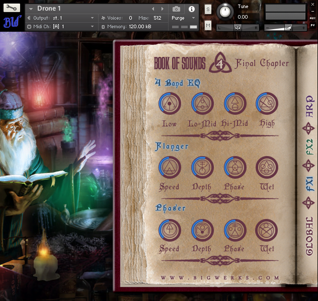 Book Of Sounds IV Kontakt Library 3
