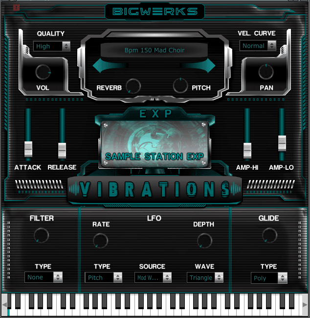 New ! Vibrations EXP - Sample Station 2