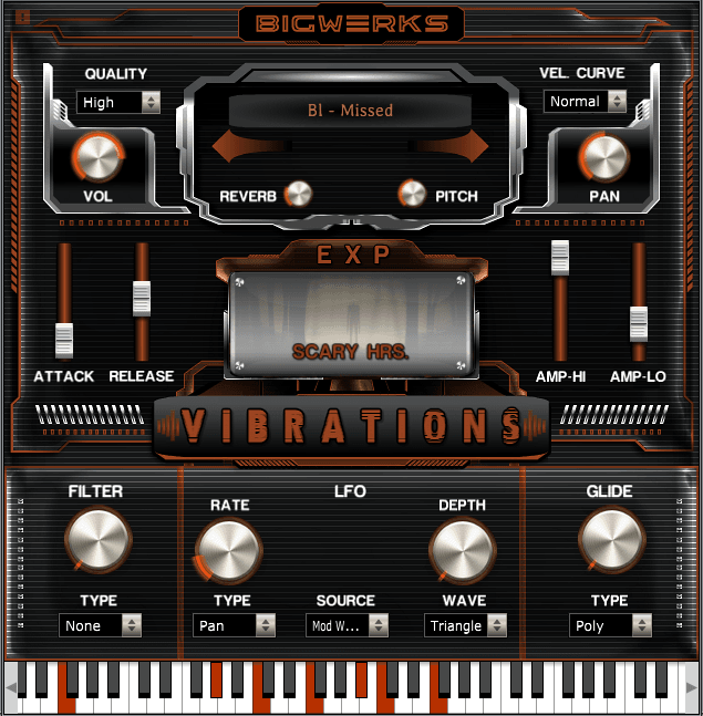 New ! Vibrations EXP - Scary Hrs. 2