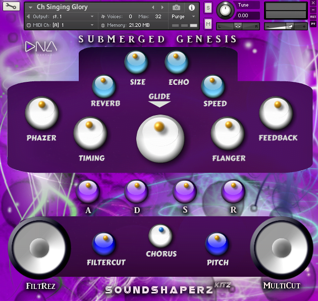 New ! Submerged Genesis Kontakt Library (3rd Party) #1 2