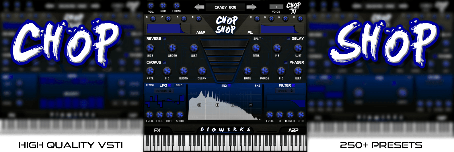 Chop Shop VSTI Plugin - #1 plugin for Trap|Hip-hop|House Music 2
