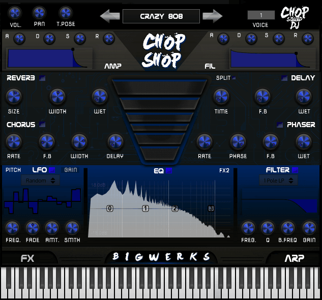 Chop Shop VSTI Plugin - #1 plugin for Trap|Hip-hop|House Music 9